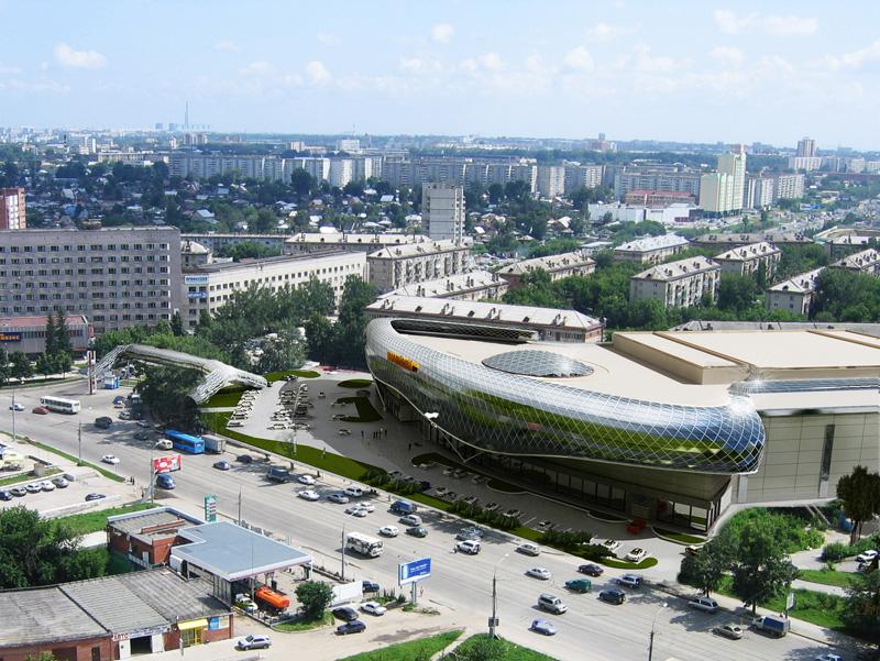 Новосибирск. ТРЦ «Европейский»