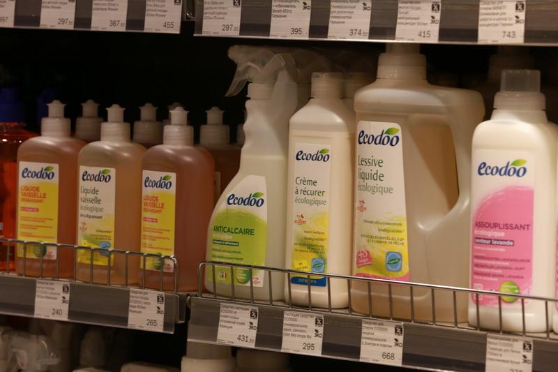 Если бы магазин рассказал о том, что в нем представлена Bio бытовая химия, это бы увеличило средний чек