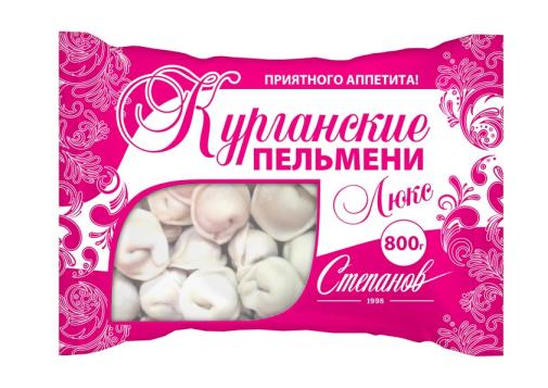 """Пельмени Курганские Люкс """"Степанов 1998"""""""