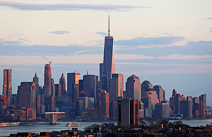 Небоскреб One World Trade Center в Нью-Йорке. Фото: Rickey Rogers/Reuters
