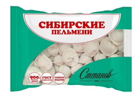 """Пельмени Сибирские """"Степанов 1998"""""""