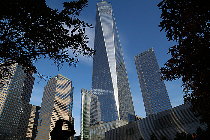 Небоскреб One World Trade Center в Нью-Йорке. Фото: John Schults/Reuters