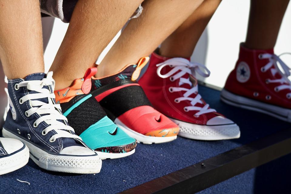 необычные фото спортивной обуви быть, даже