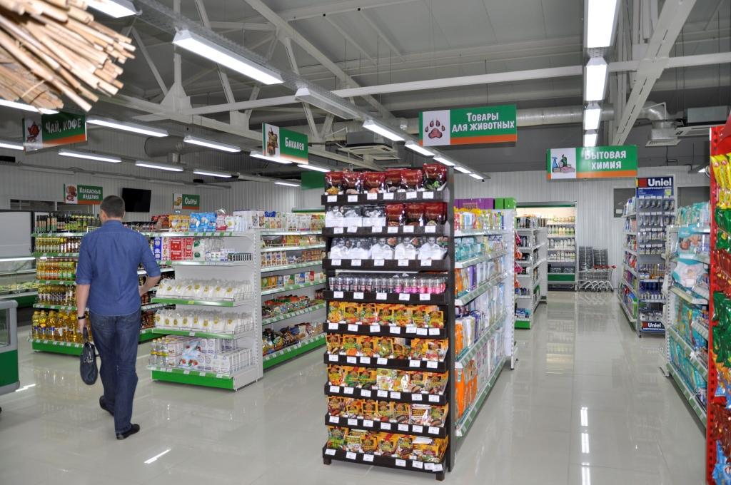 супермаркет Изумруд стеллажное оборудование