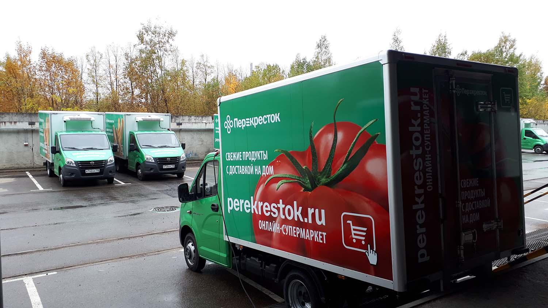В пакетах зеленого цвета доставляется охлажденная продукция