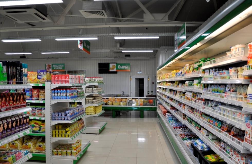 супермаркет Изумруд холодильный шкаф