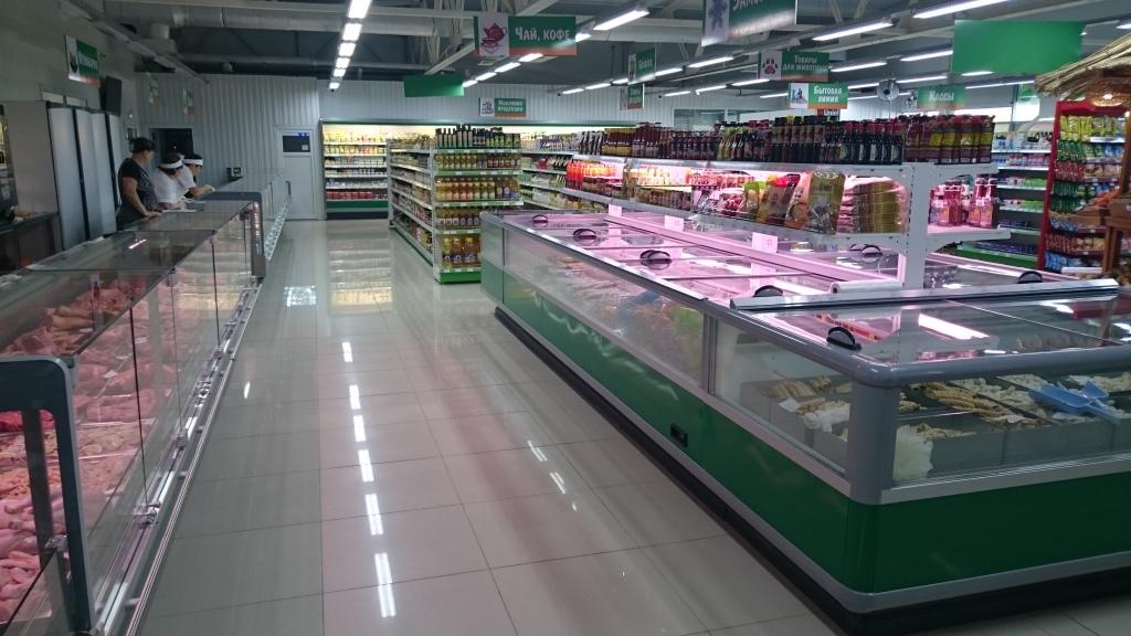супермаркет Изумруд холодильные витрины