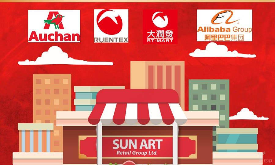 845c568d2a26 RT-mart (Sun Art Retail Group) — крупнейшая торговая сеть Китая