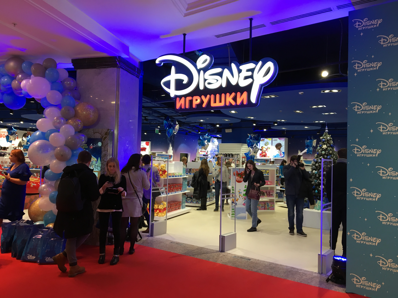 cdb95b6cfbe Disney Магазин площадью 300 кв. метров расположен на 1 этаже