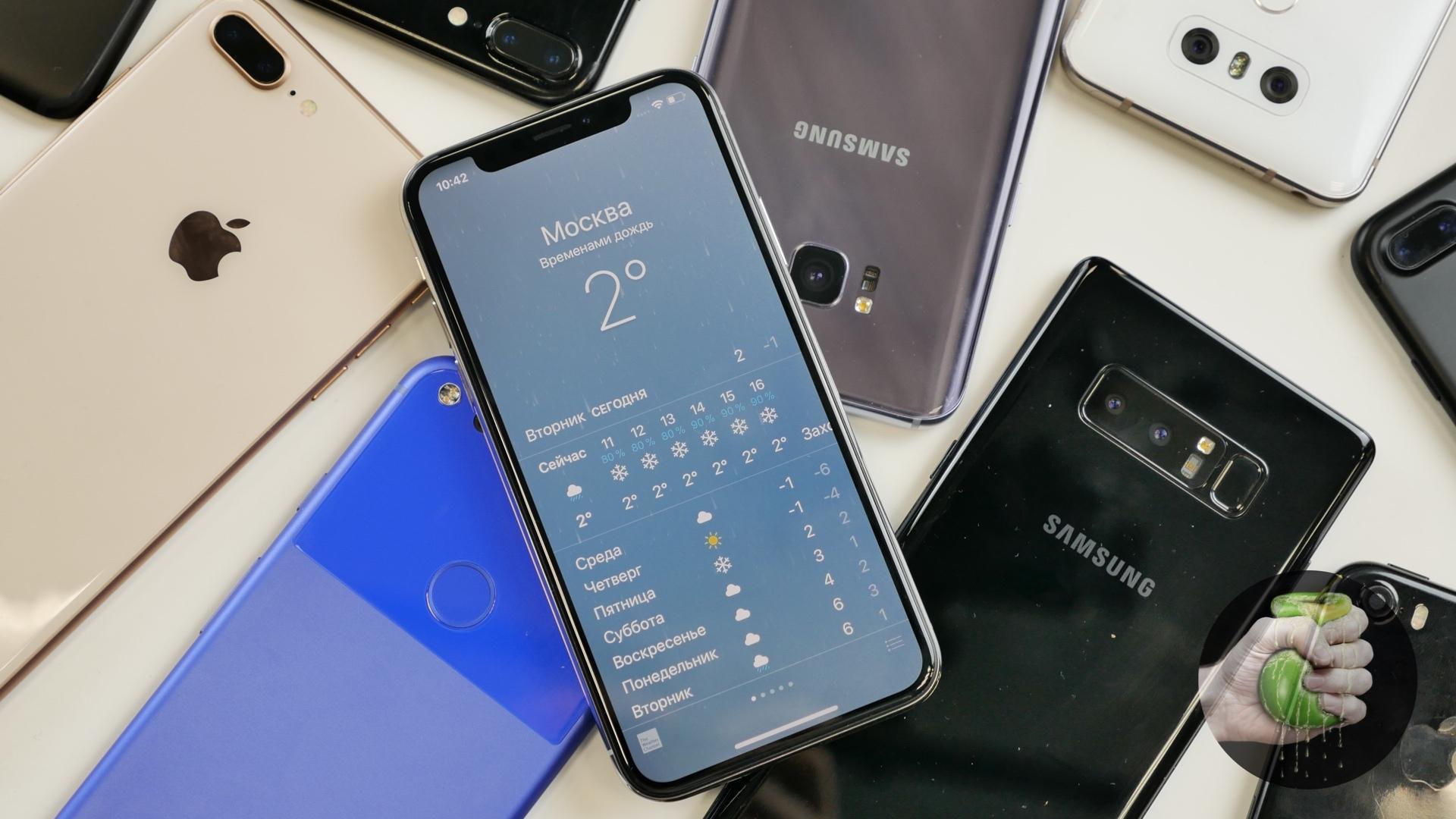ТОП-10смартфонов в 2019 году