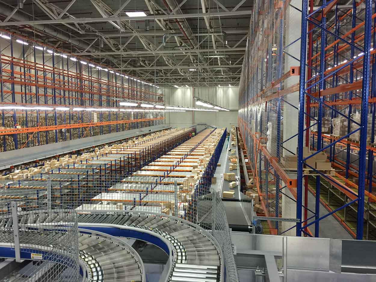 Основные запросы к складам