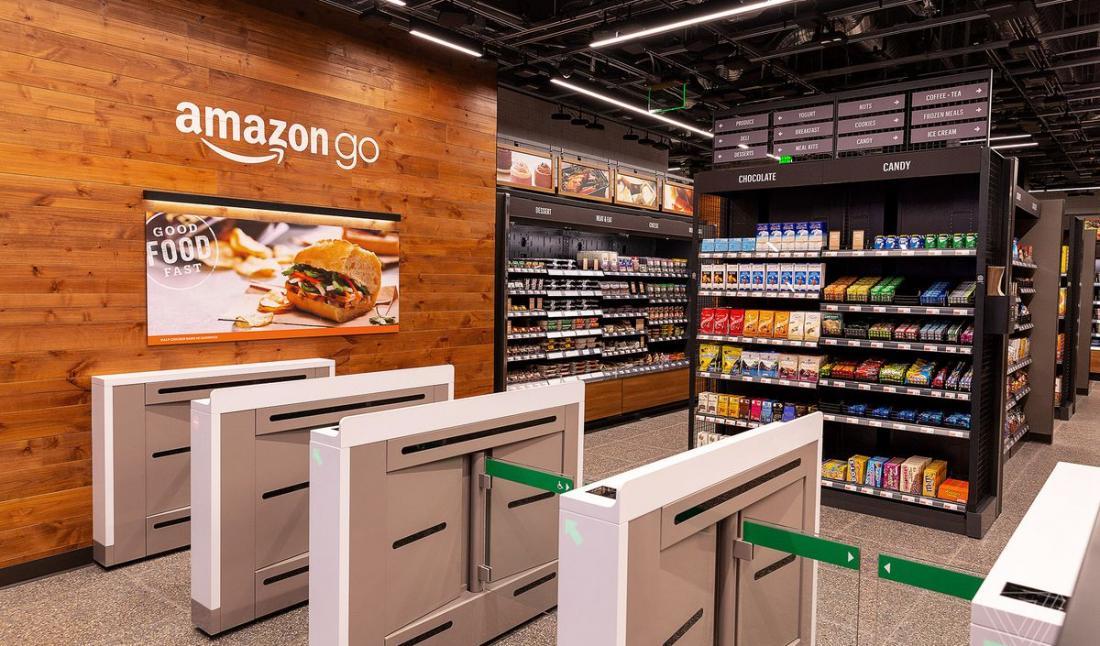 Amazon Go: беспилотные магазины в США