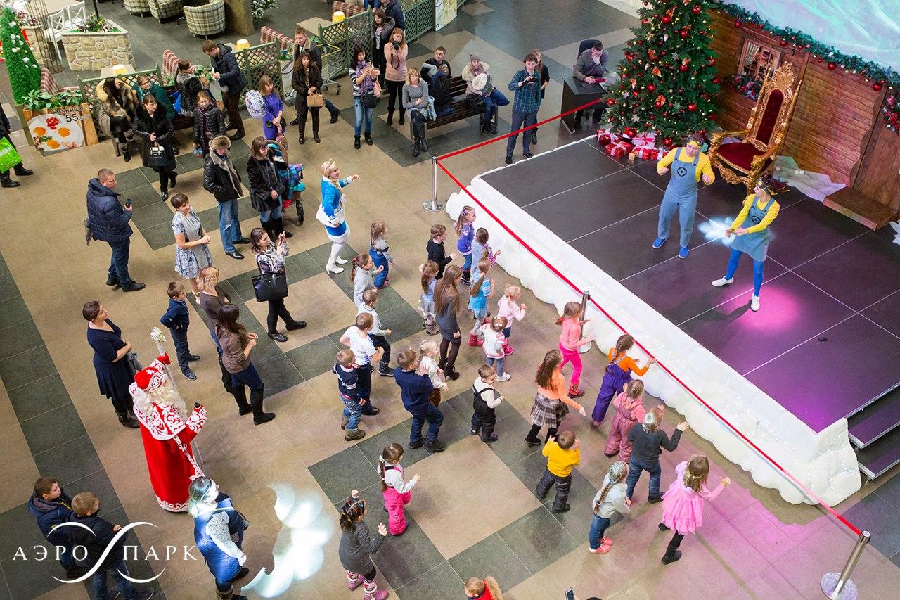 нестандартные мероприятия в торговом центре