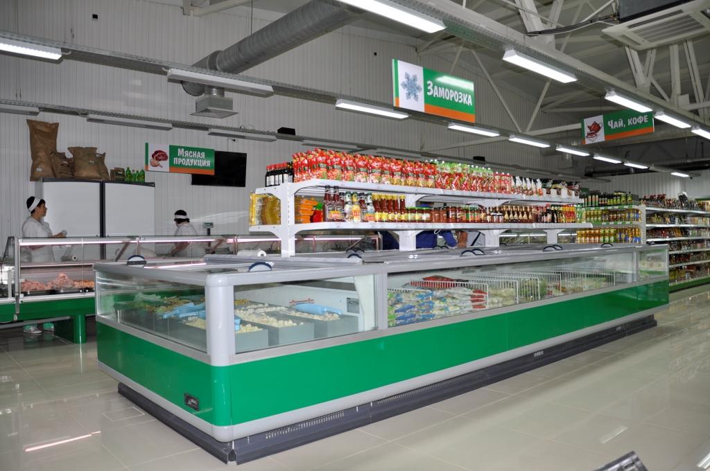 супермаркет Изумруд морозильные витрины