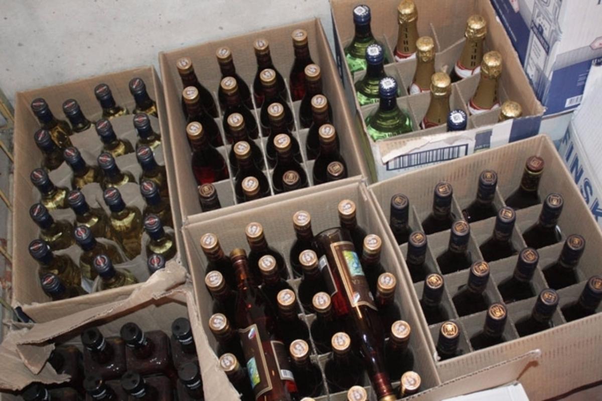 склад алкоголя
