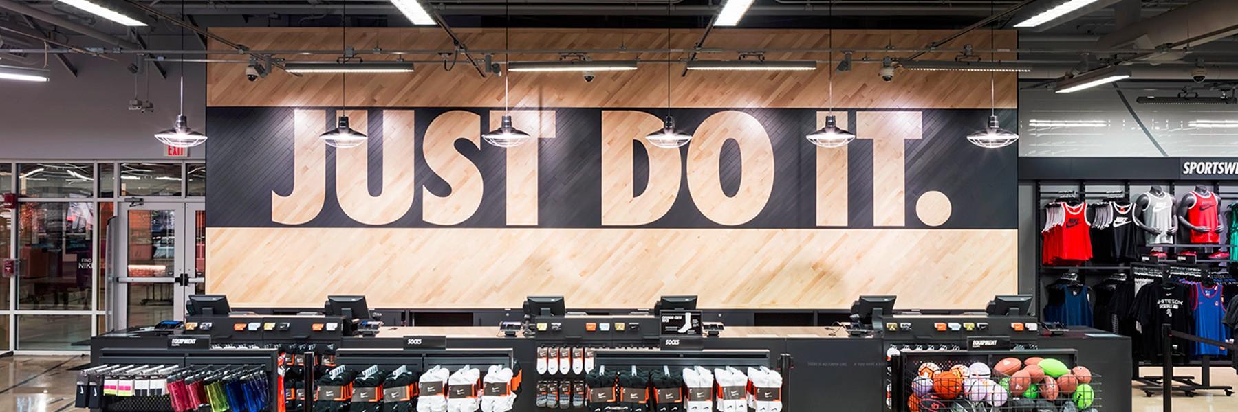 6121774b99f Nike откроет самый крупный в мире одноэтажный магазин