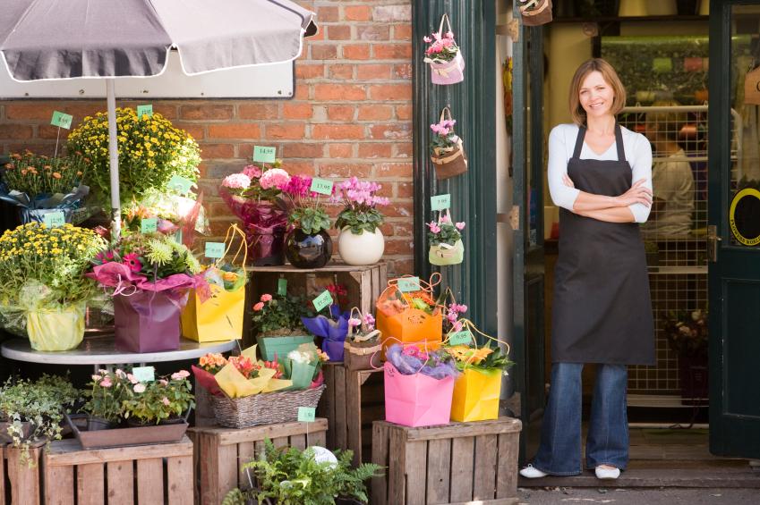 Гортензий синих, заказать цветы на дом кафе
